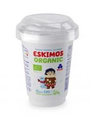 """Мороженое ОРГАНИЧЕСКОЕ пломбир """"Эскимос-Organic"""" в пластиковом стакане, 120г"""